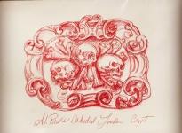 ink drawing st. pauls